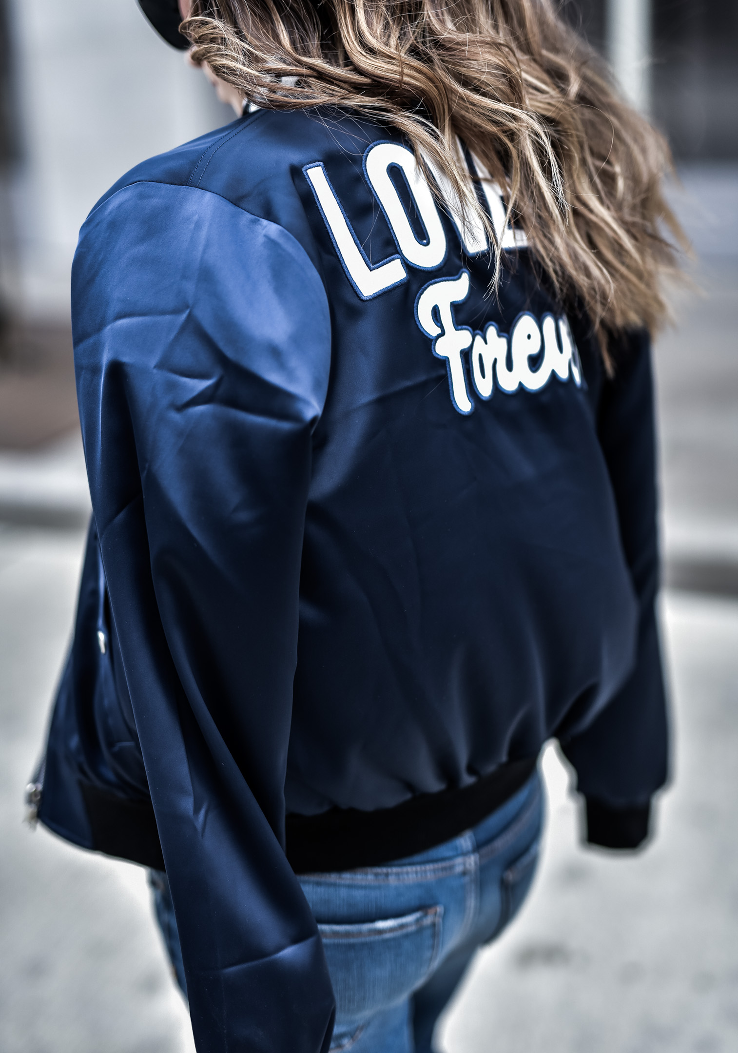 Houston fashion blogger wearing a bu the way bomber jacket and raw hem jeans from Nordstrom | Outfit ideas, LA outfits, spring fashion
