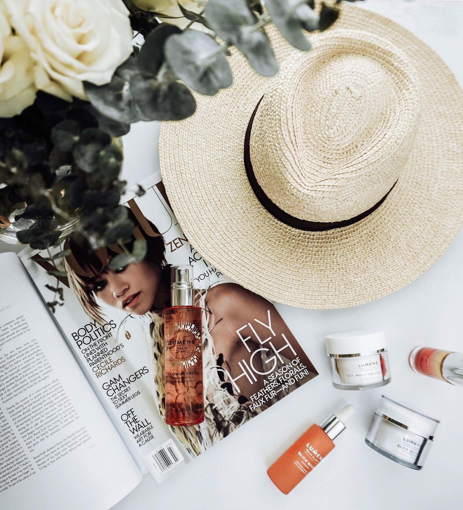 Tiffany Jais Houston fashion and lifestyle blogger   Flatlay, lumene skincare,