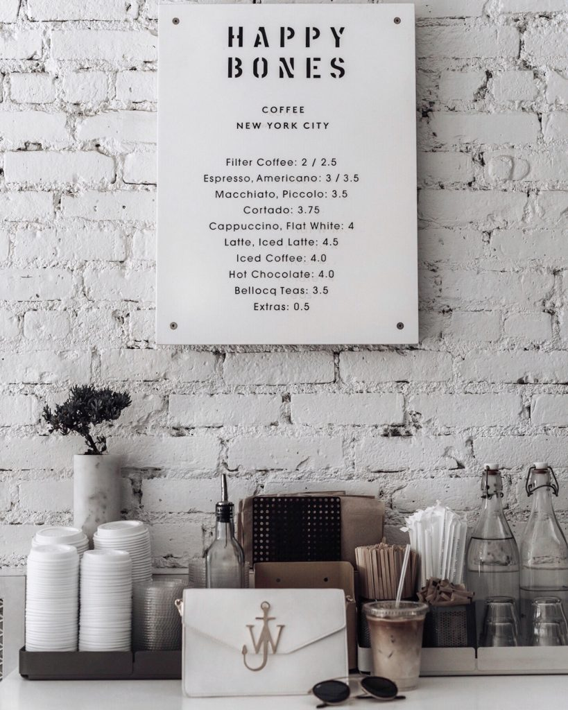 Soho coffee shop | Happy Bones coffee