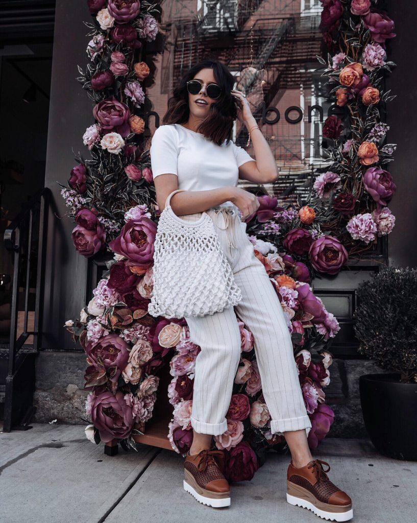 NYC   Topshop bag #liketkit #stellaplatforms #urbanoutfitters