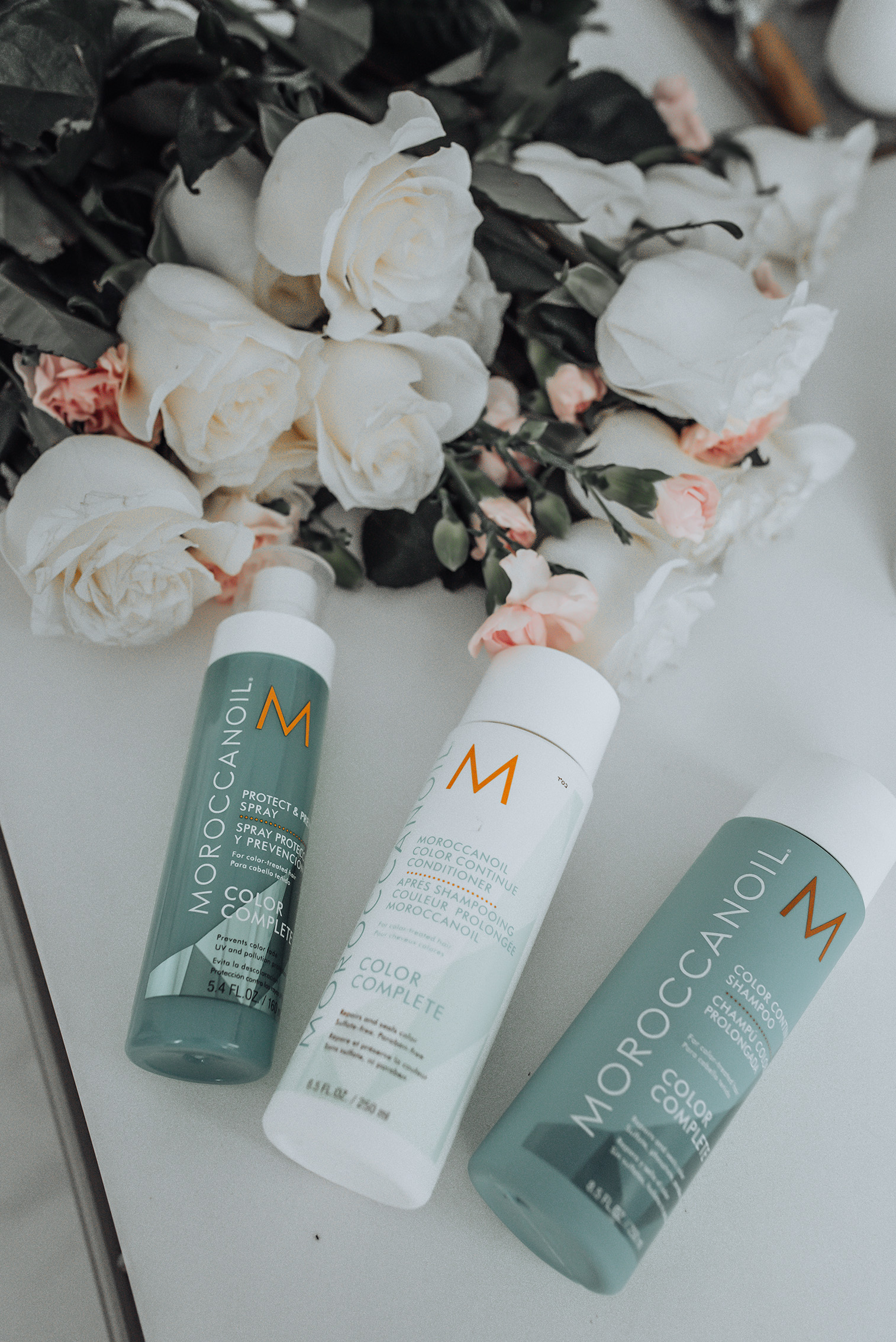 long lasting hair color | Color Continue Shampoo | Color Continue Conditioner | Protect & Prevent Spray