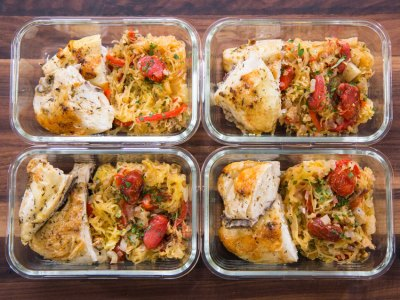 greek chicken meal prep