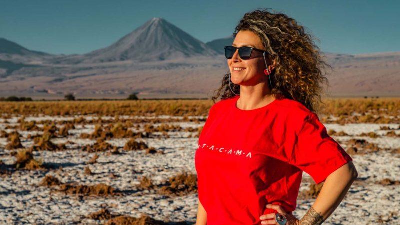 T-shirt Atacama basic FlaviaBia Atacama