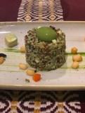 Quinoa com pesto de ervas