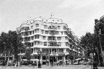 Casa Mila - great work of Antoní Gaudí