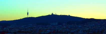 Tibidabo (BCN) after Sunset