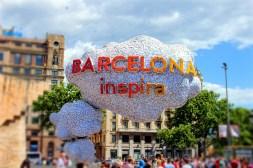 Barcelona es verdad una capital que inspira.