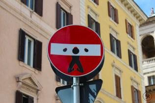 Street Art in Rome, Italy
