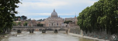 Tiber with view to Vatican