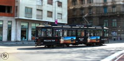 Old Tram in Milano
