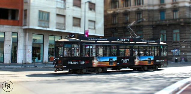 Old Tram in Milano