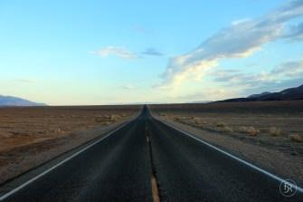 Riding through the desert
