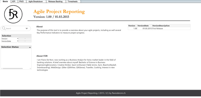 Agile Project Reporting V1