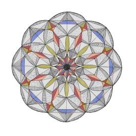 Mandala Copic