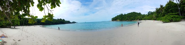 Beach in Manuel Antonio Nationalpark, Costa Rica