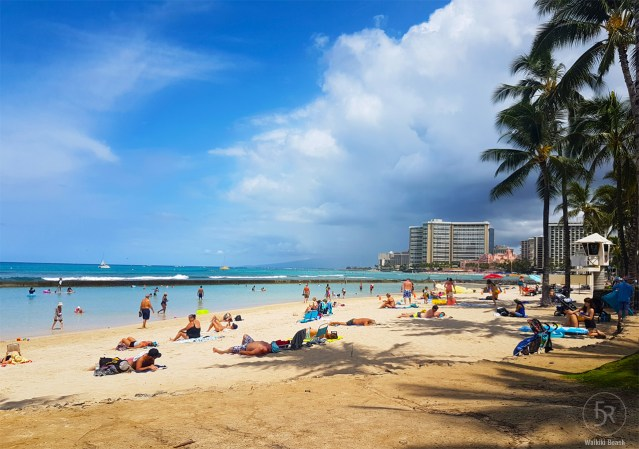 Postcard shot from Waikiki Beach