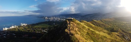 Stunning view of Waikiki in the early morning