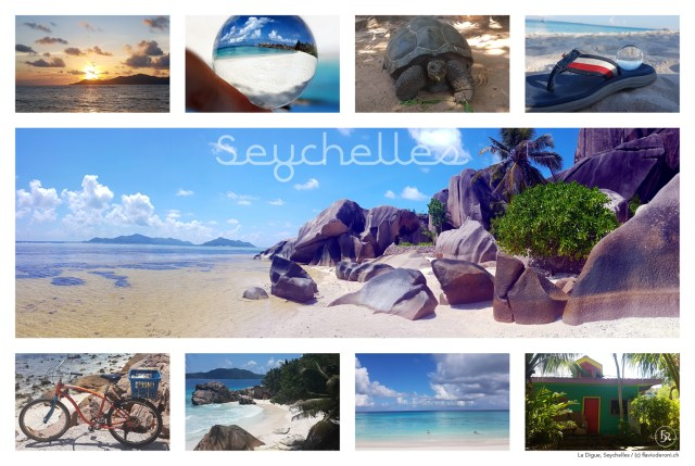 Postcard from La Digue, Seychelles