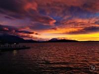 Sunset at Zug (Lake Zug) - shot with my Huawei P30 Pro (23.02.2020)