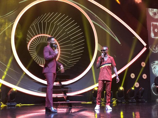 BBNaija 2020 Grand Prize Presentation: Host, Ebuka and winner, Laycon laycon How Laycon Made 30 Fans 1Million Naira Richer Each bbnaija ebuka and laycon 1 laycon How Laycon Made 30 Fans 1Million Naira Richer Each bbnaija ebuka and laycon 1