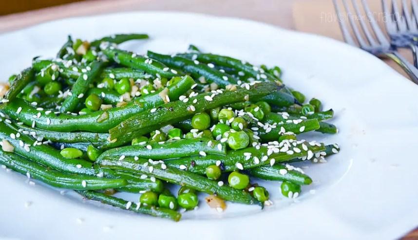 Sesame Ginger Green Beans