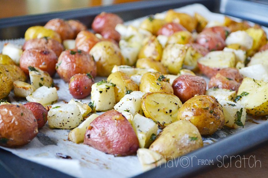 Kohlrabi and Potatoes