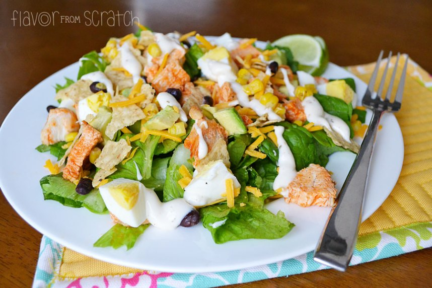 Spicy Chicken Southwest Salad
