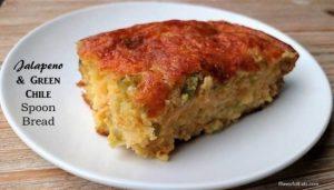 Jalapeno & Green Chile Spoon Bread