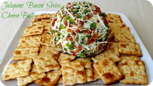 Jalapeno Bacon Swiss Cheese Ball