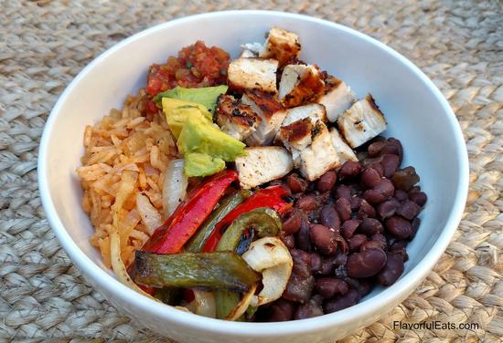 Fajita Burrito Bowls