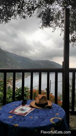 View from La Posada Ristorante