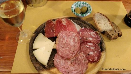 Salami Tasting Plate