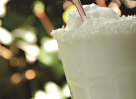 Coconut lemonade photo courtesy of Gaira Cafe