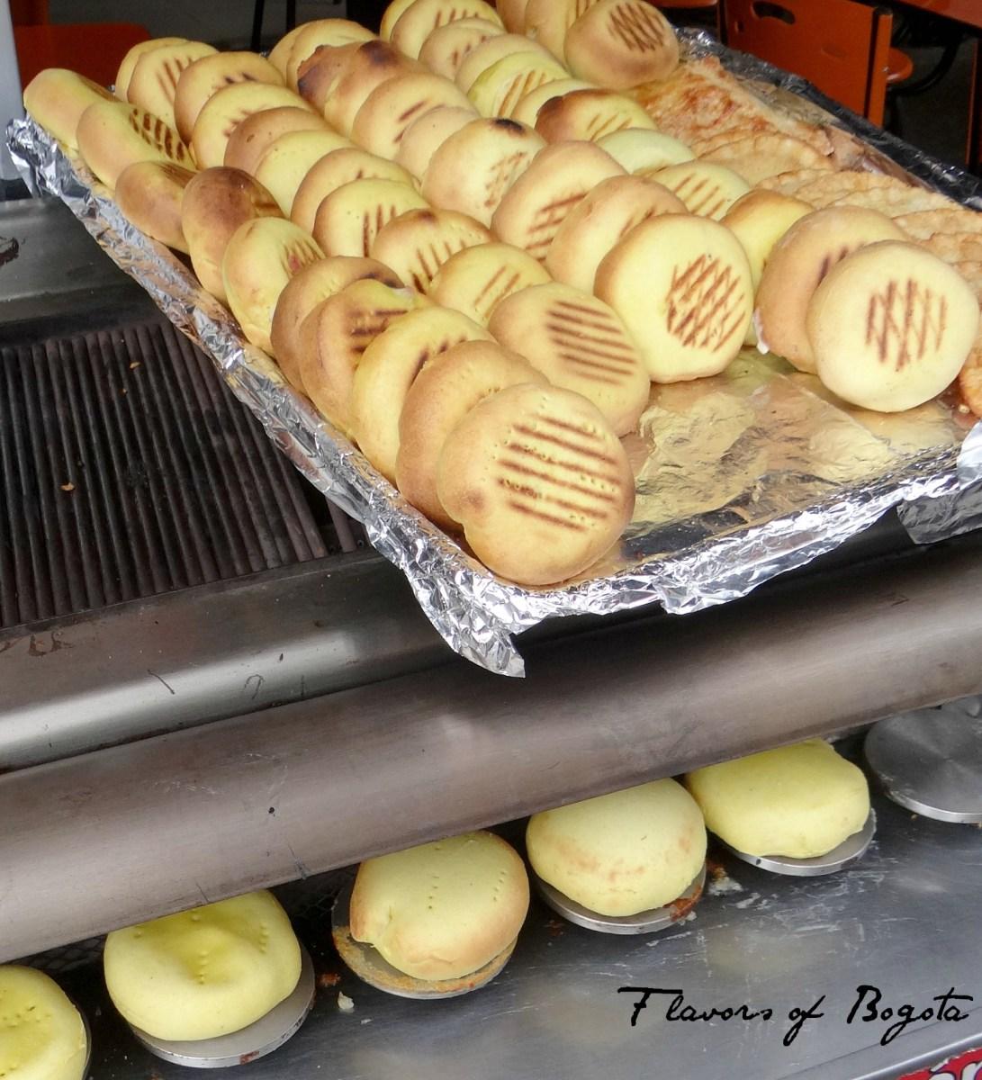 Flavor Fridays: Arepas boyacenses in Bogota