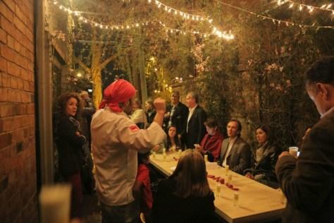 Bogota WF Festival chefs in motion