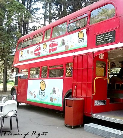Brot bakery bus in Bogota