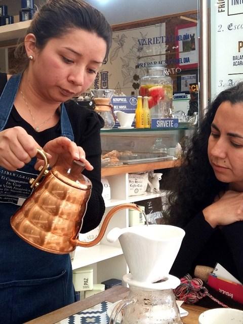 Barista brew specialty coffee