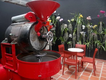 Coffee roaster Amor Perfecto