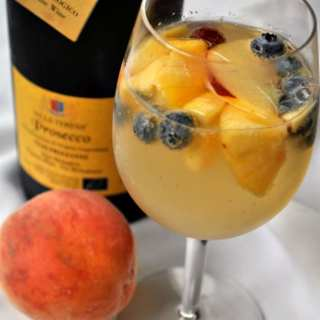The Best Peach Sangria