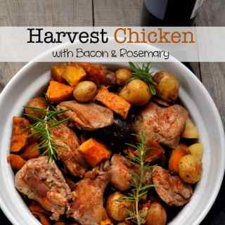 Harvest Chicken with Bacon and Rosemary