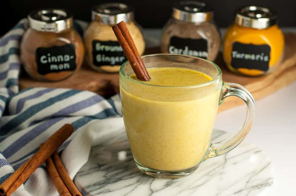 Turmeric Pick-Me-Up, as delicious and healthy as this favourite Warm Turmeric Cinnamon Milk