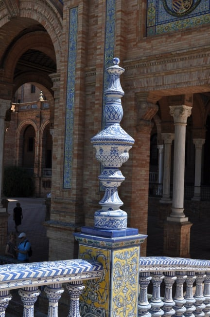 Seville Spain Plaza d'Espagna