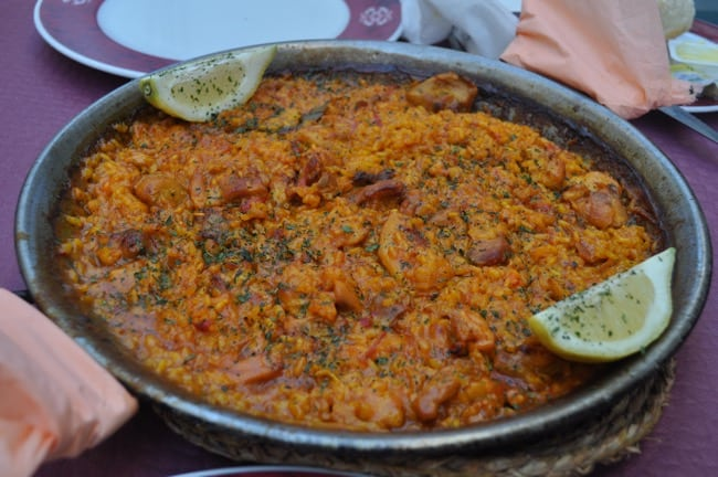 Paella in the White Hill Towns of Andalusia