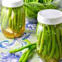 Quick Refrigerator Pickled Beans