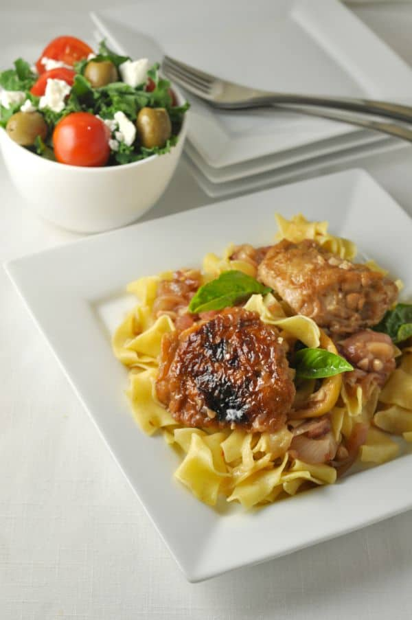 Lemon garlic chicken with pasta flavour and savour lemon garlic chicken with pasta and herbs easy family dinner with ingredients you already have forumfinder Images