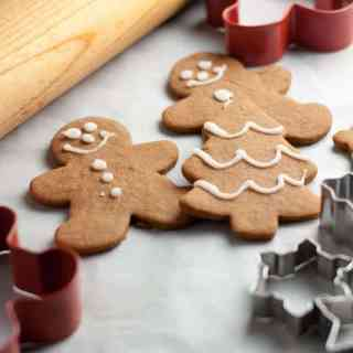 Traditional and Reliable Gingerbread Cut-Out Cookies