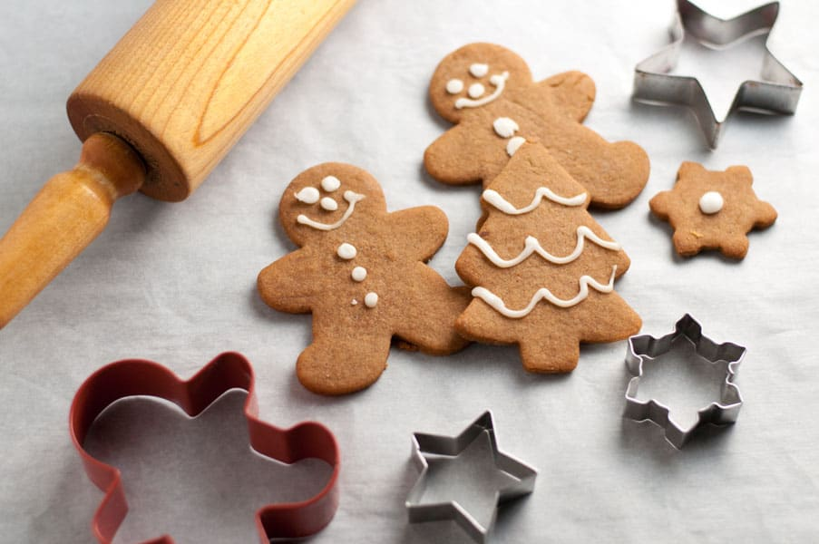 Traditional and Reliable Gingerbread Cut-Out Cookies. A family favourite recipe. Fun to make, fun to decorate!