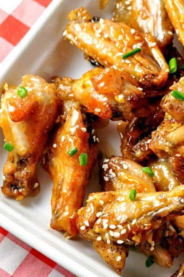 Honey Lime Garlic Wings. Like crispy chicken wings? Use this method to produce crispy honey lime garlic wings without all the fat.