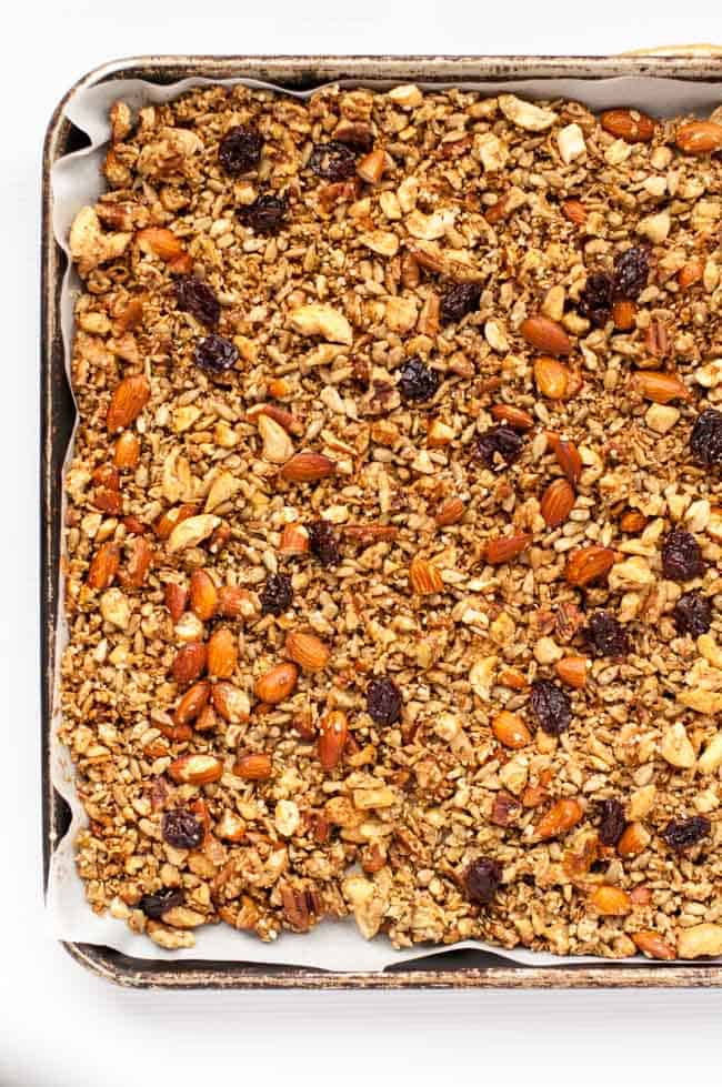 Cherry Vanilla Grain-Free Granola.