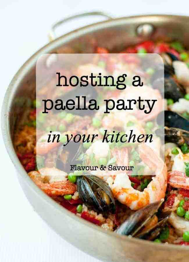 Hosting a Paella Party in Your Kitchen